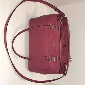 Coach Handbag - gorgeous pink